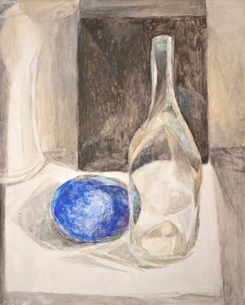 Blau, 60 x 48 cm, Öl, 2008