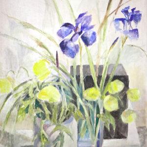 Aus meinem Garten, 60 x 48 cm, Öl, 2008