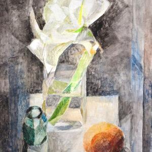 Große weise Blüte, 60 x 48 cm, Öl, 2004