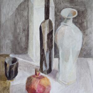 Das Paar, 60 x 48 cm, Öl, 2012