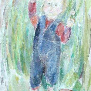 Dominik, 60 x 48 cm, Öl, 1991