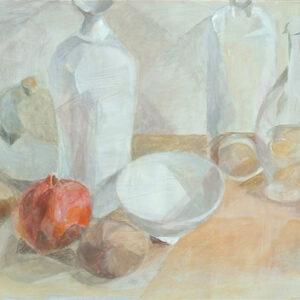 Sanfte Töne, 48 x 60 cm, Öl, 2010