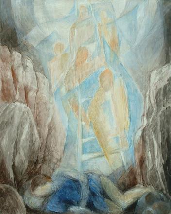 Jakobs Traum, 60 x 48 cm, Öl, 2007