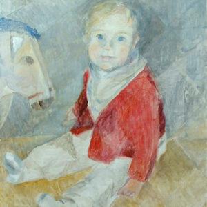 Johanna Maria, 60 x 48 cm, Öl, 2005